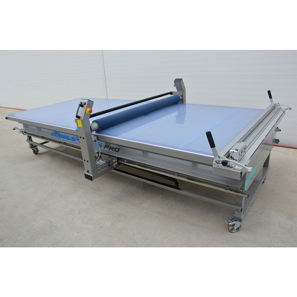 BUBBLE-FREE Pro Application Table with LED 1680mm x 4000mm