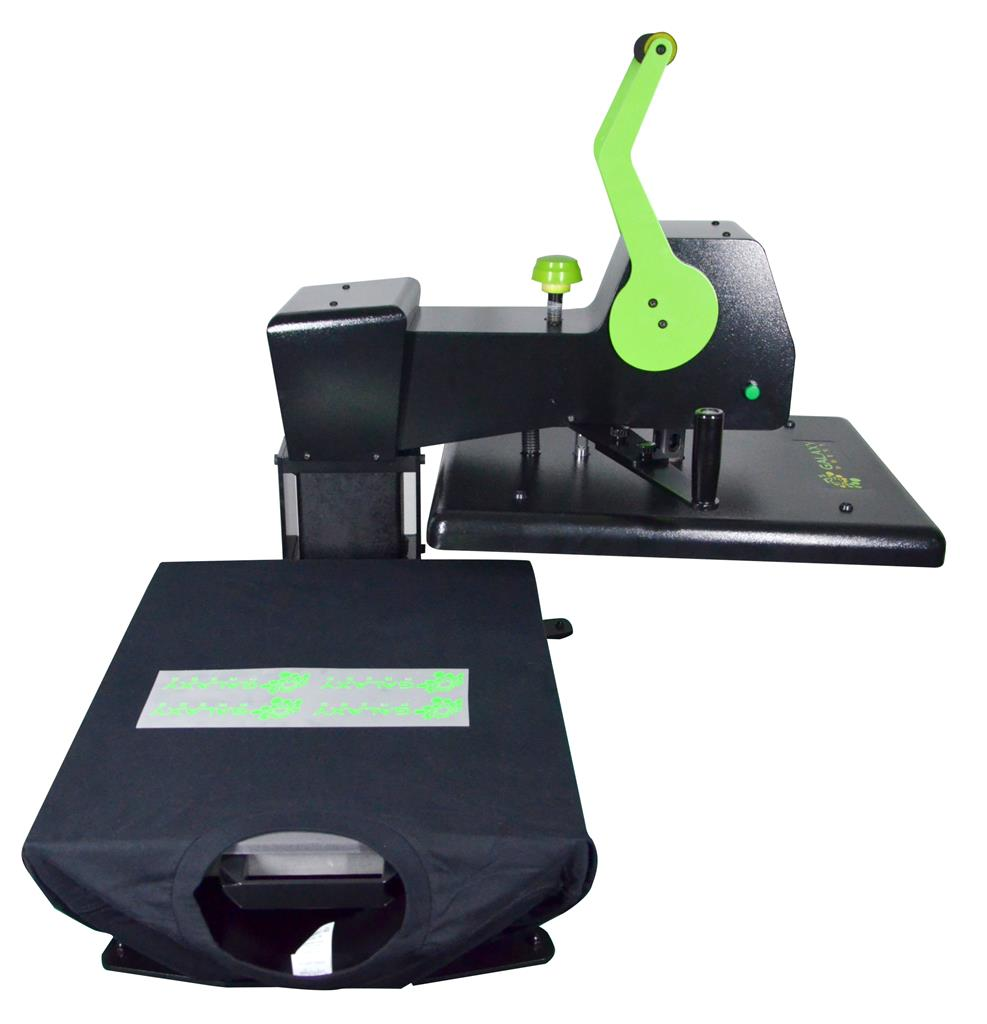 GALAXY Hero Heat Press Machine with Pressure Sensor (Swing Away with Slider) 16öx20ö